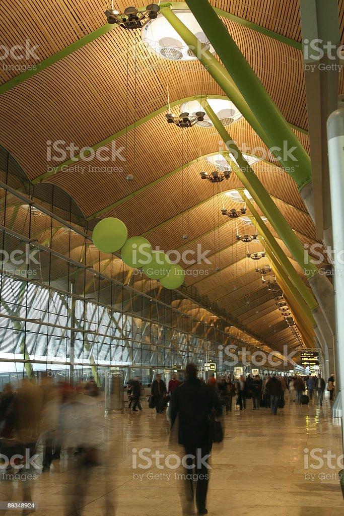 Salon de l'aéroport International. - Photo