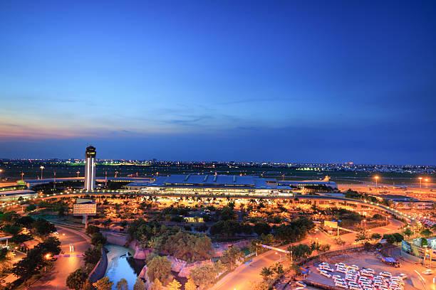 international airport of Tan Son Nhat stock photo