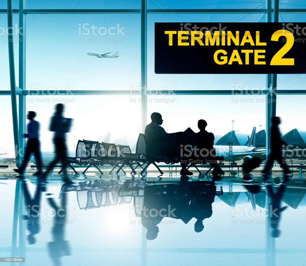International Airport. stock photo
