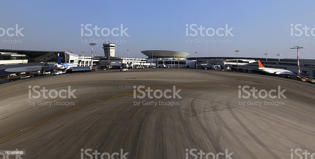 International Airport stock photo