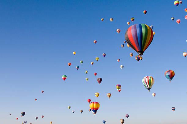 International Balloon Fiesta stock photo