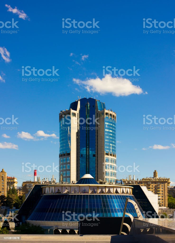 International Business Center in Moscow stock photo