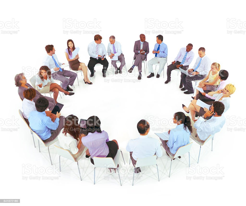 International Business Meeting Communication Team Concept stock photo