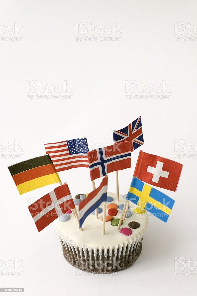 International Celebration stock photo