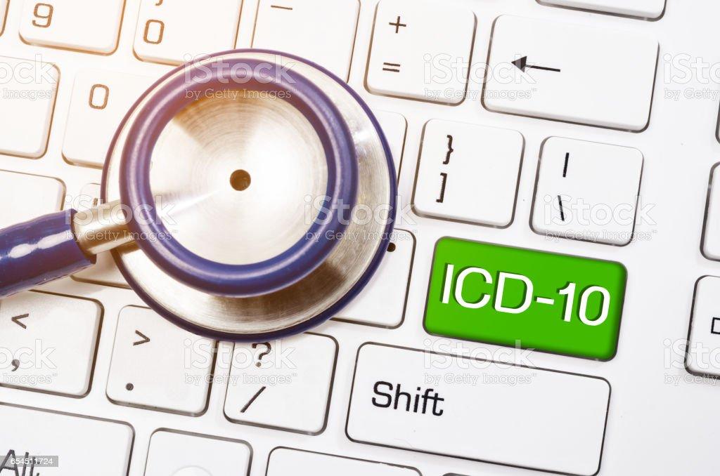 International  Classification of Diseases stock photo