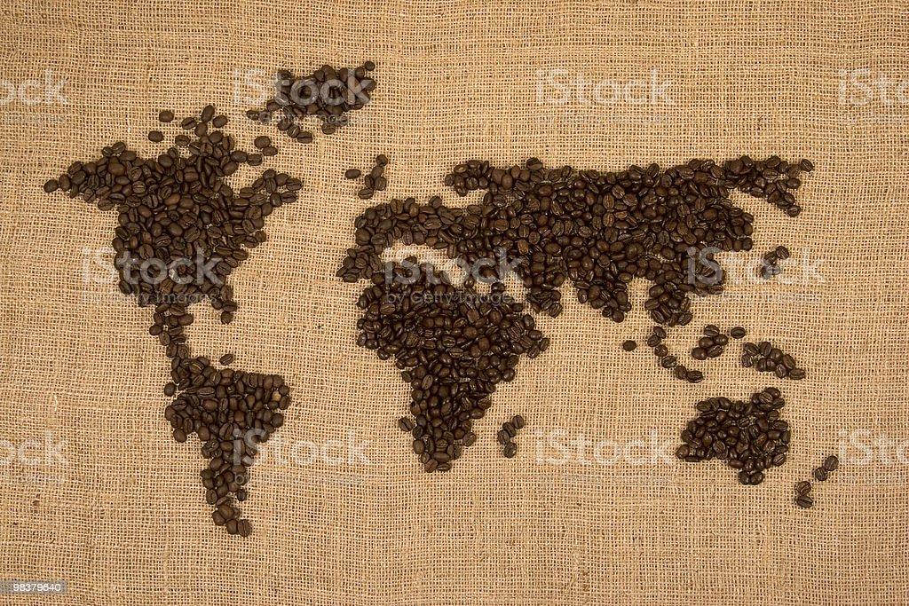 International Coffee Trade royalty-free stock photo