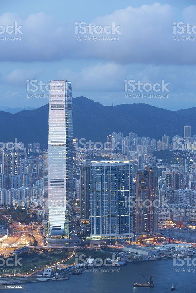 \'International Commerce Centre in West Kowloon District, Hong Kong.\'