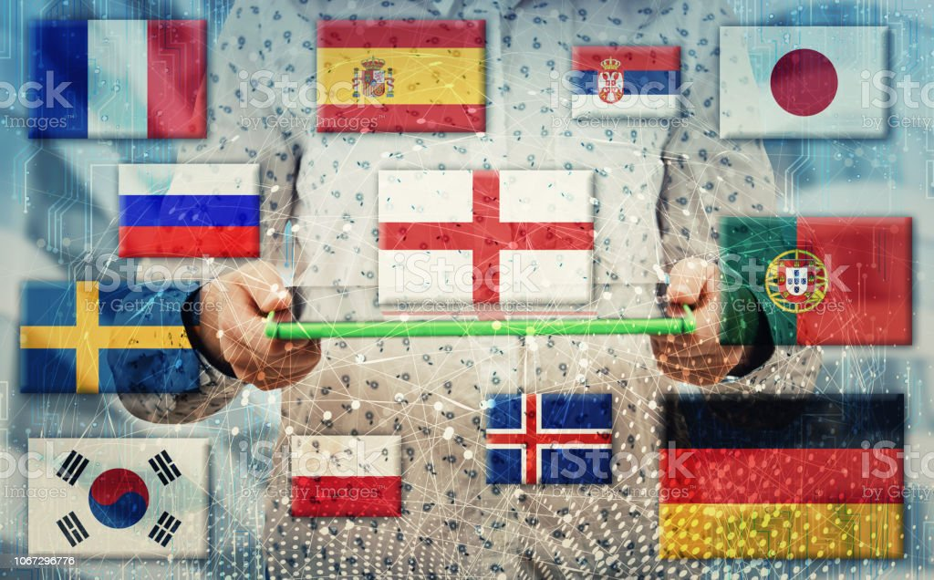 Internationale Kommunikations-Konzept – Foto