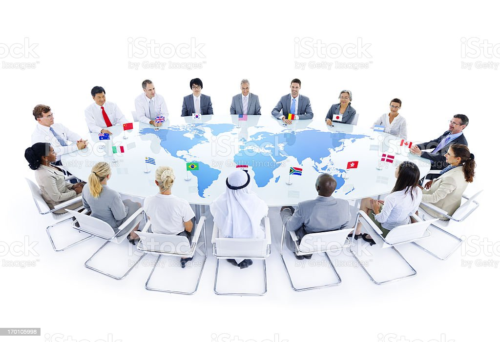 International Conference stock photo