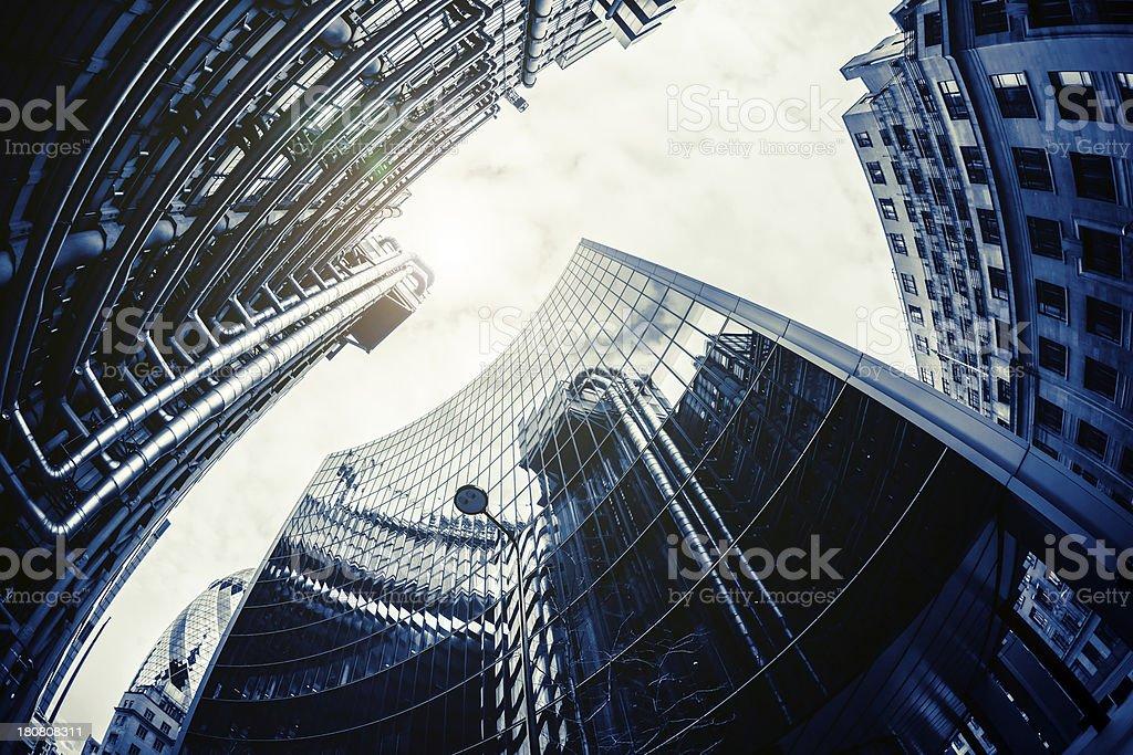 International Corporation Office Buildings royalty-free stock photo