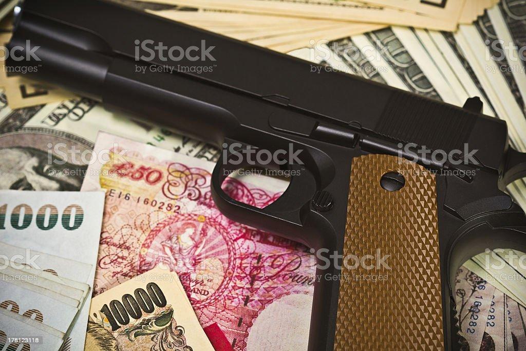 International Crime stock photo