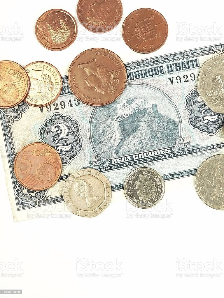 International Currency royalty-free stock photo
