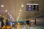 istock International departure gate in Kempegowda airport in Bangalore, India. 921324638