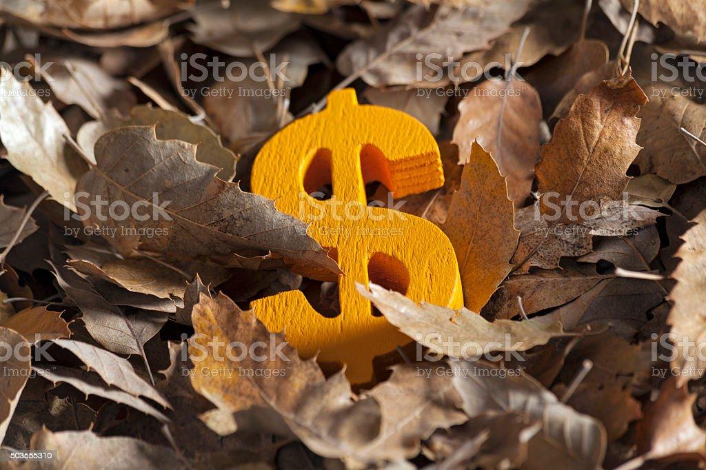 International economy money icon and currency unit stock photo