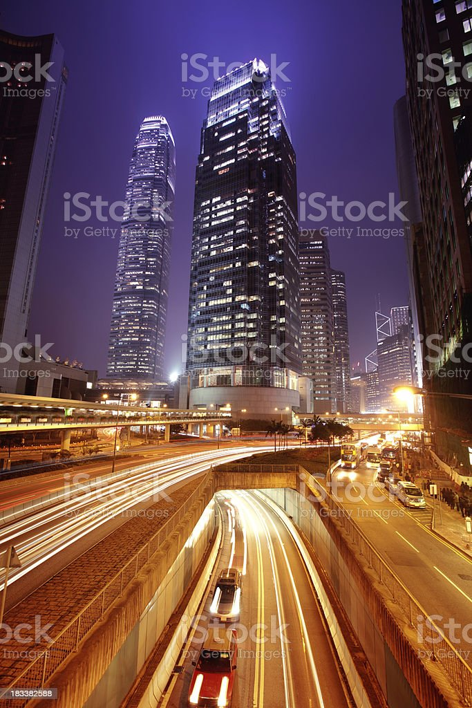 International Finance Center Hong Kong royalty-free stock photo