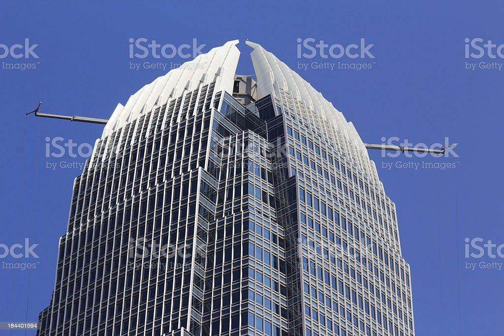 International Finance Center Hong Kong stock photo