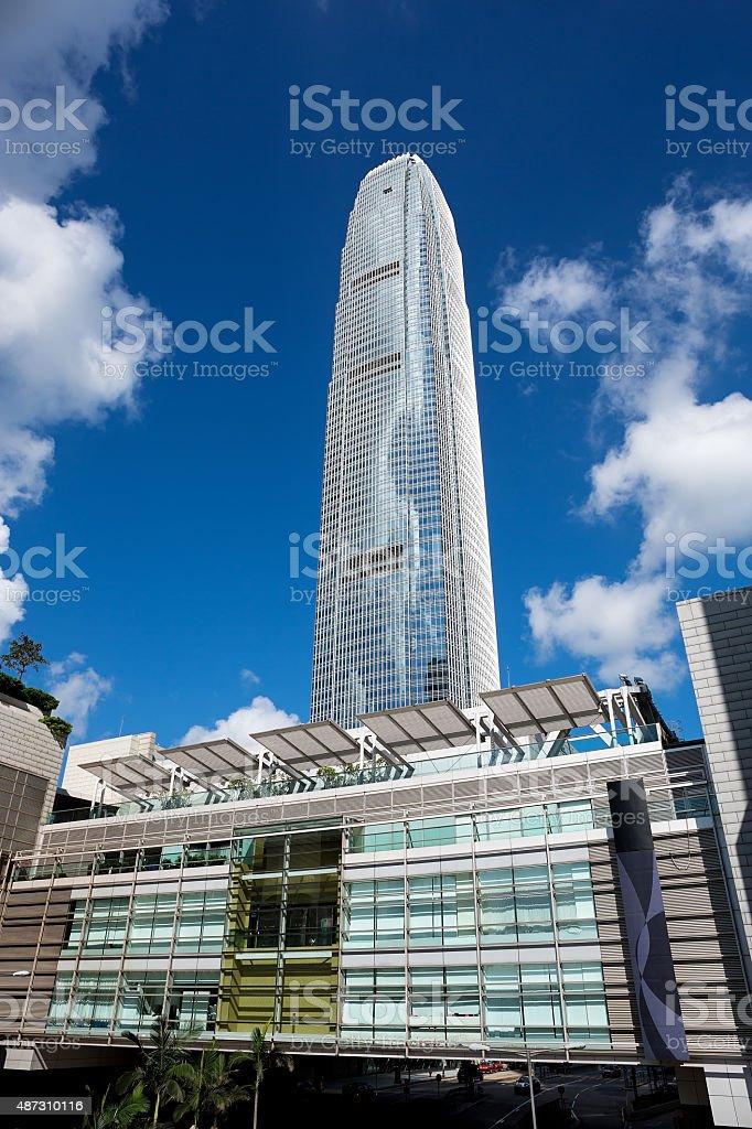 International Finance Center stock photo