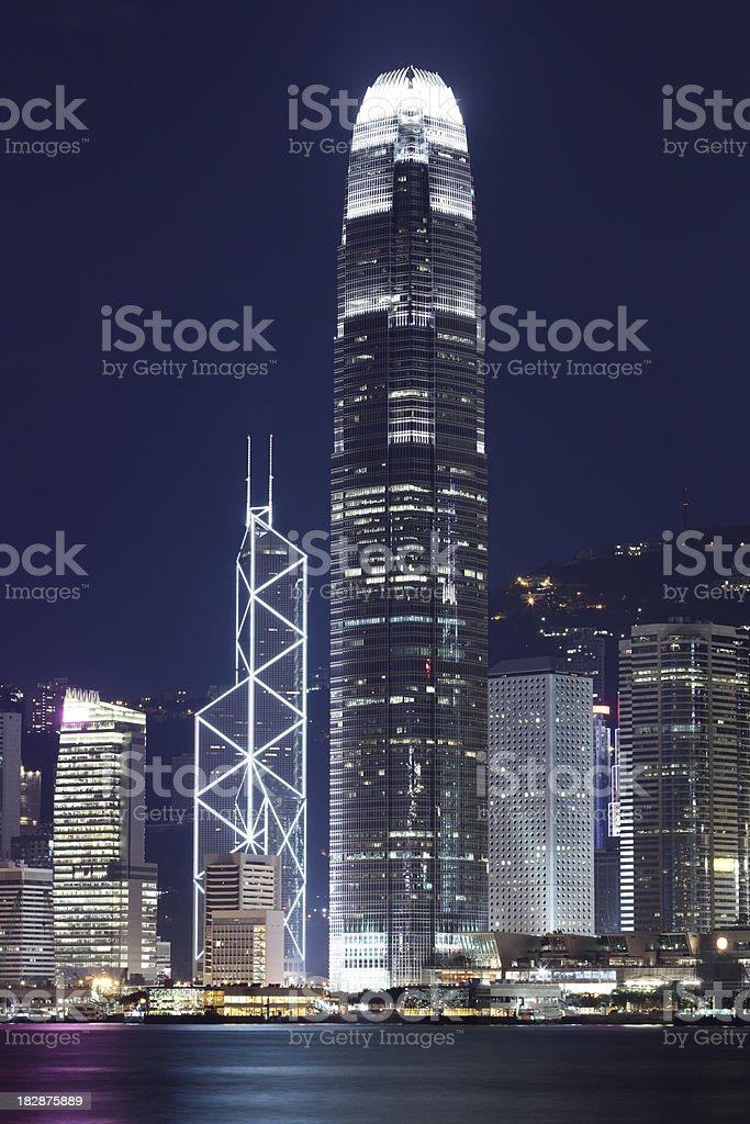 International Financial District stock photo