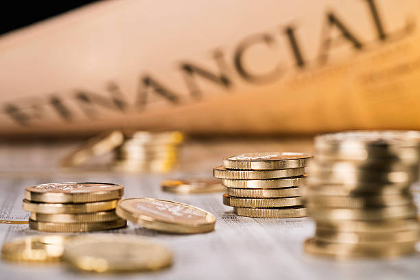 International Financial stock photo