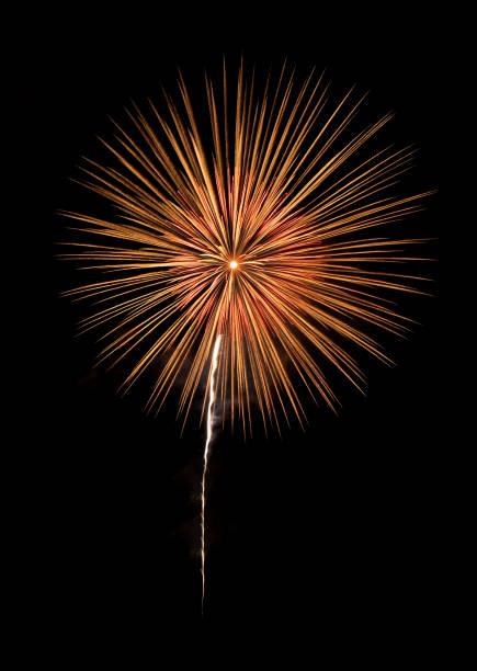 international fireworks festival display at night. variety of colorful fireworks in holidays celebration isolated on black. happy new year background. - happy 4th of july zdjęcia i obrazy z banku zdjęć