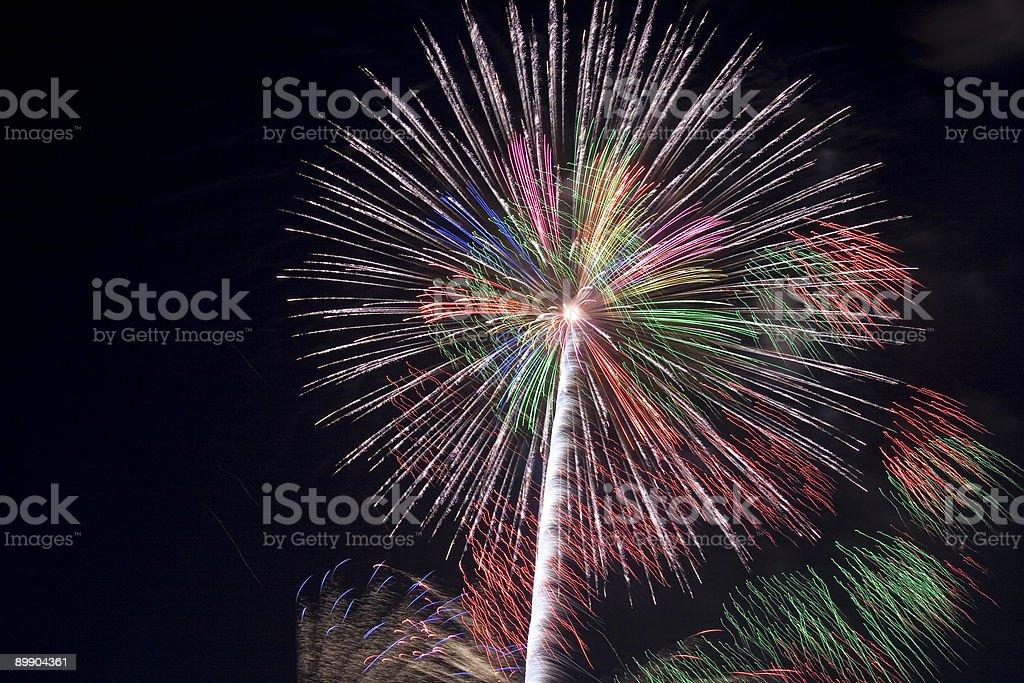 International Fireworks festival royalty-free stock photo