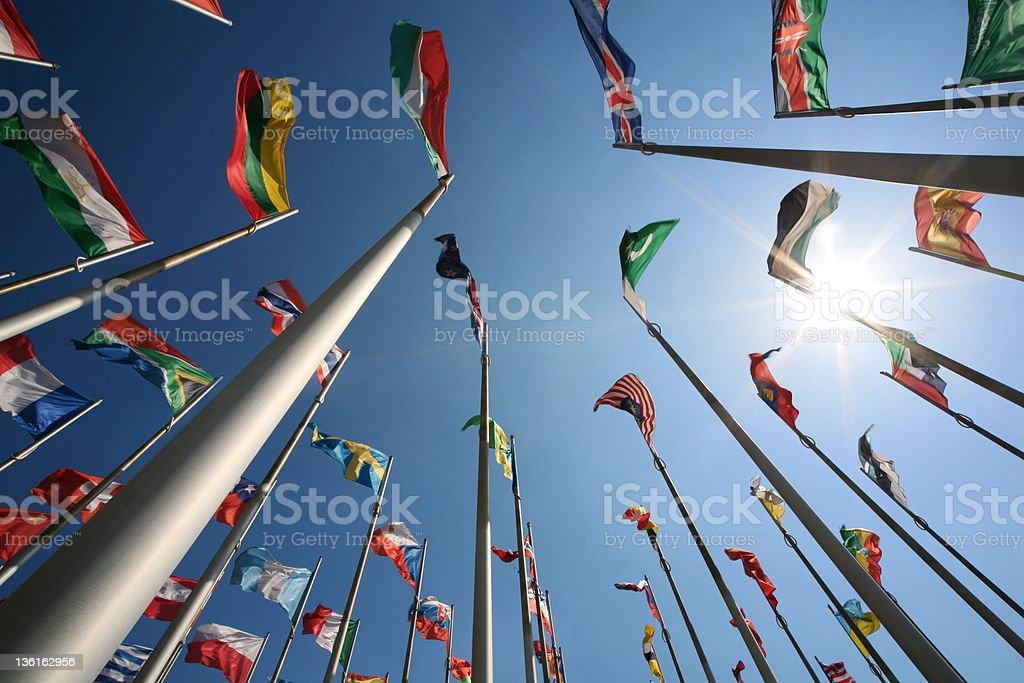 International Banderas - foto de stock