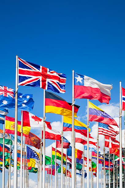 International flags – Foto