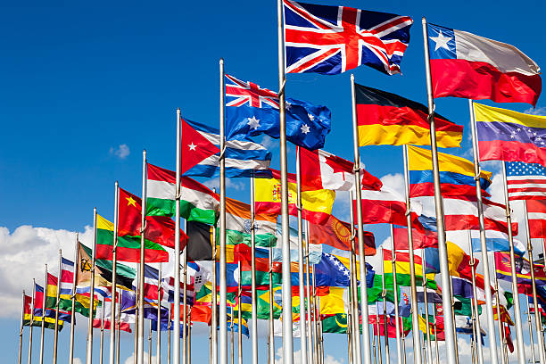 International flags – Foto