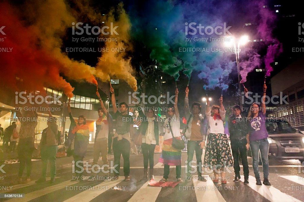 International Gay Pride Day stock photo