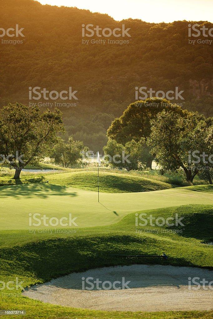 International Golf Course royalty-free stock photo