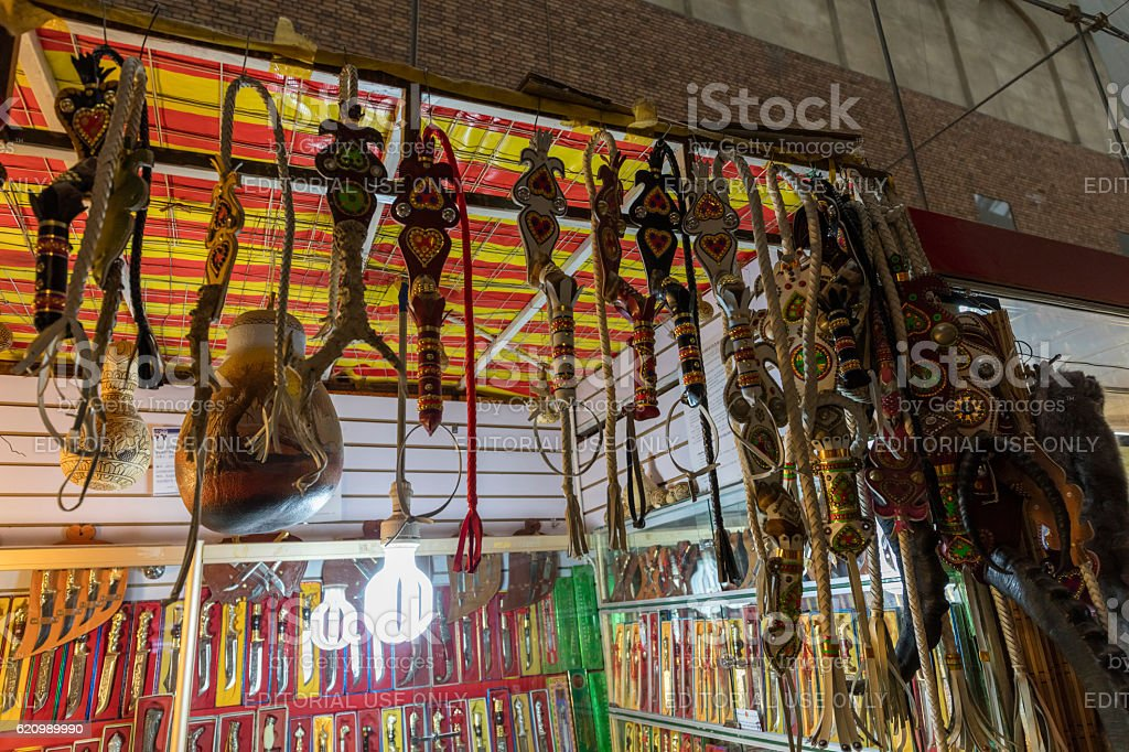 International Grand Bazaar in Urumqi,Xinjiang,  China foto royalty-free