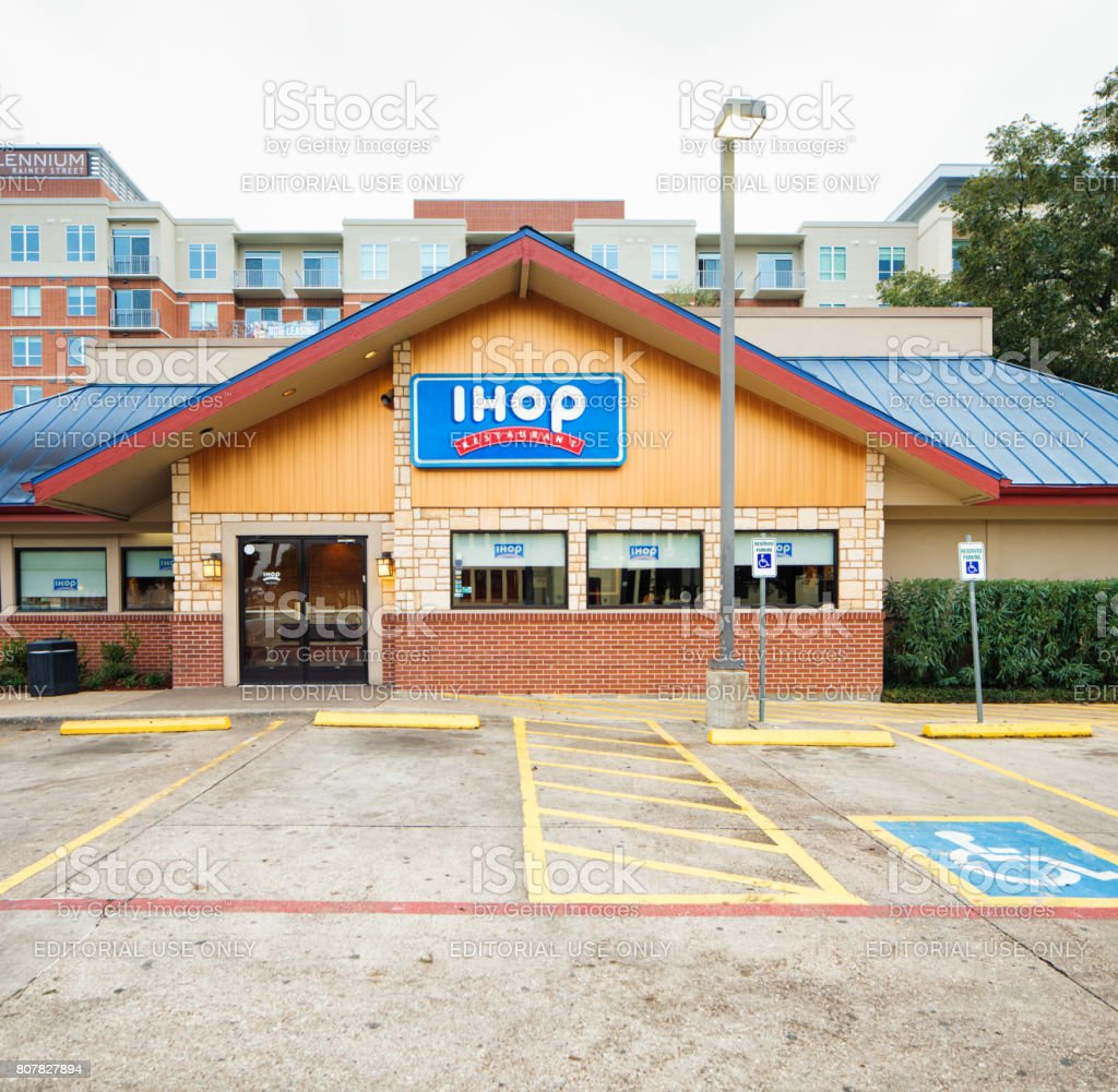 International House of Pancakes Ihop restaurant in Austin Texas stock photo