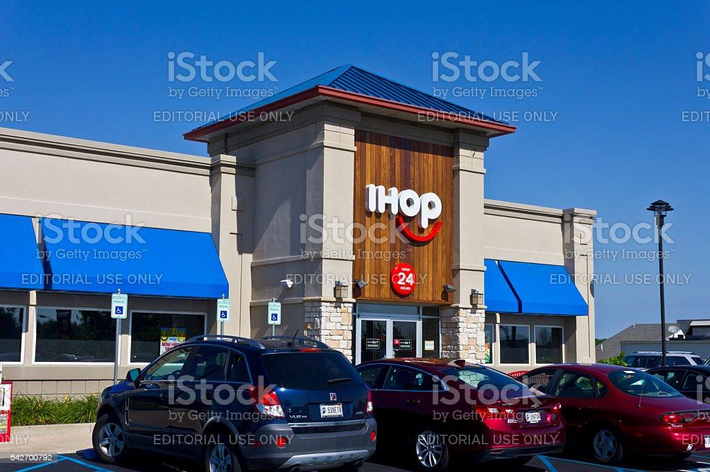 International House of Pancakes II stock photo