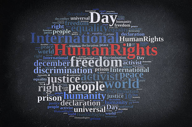 International Human Rights Day. stock photo