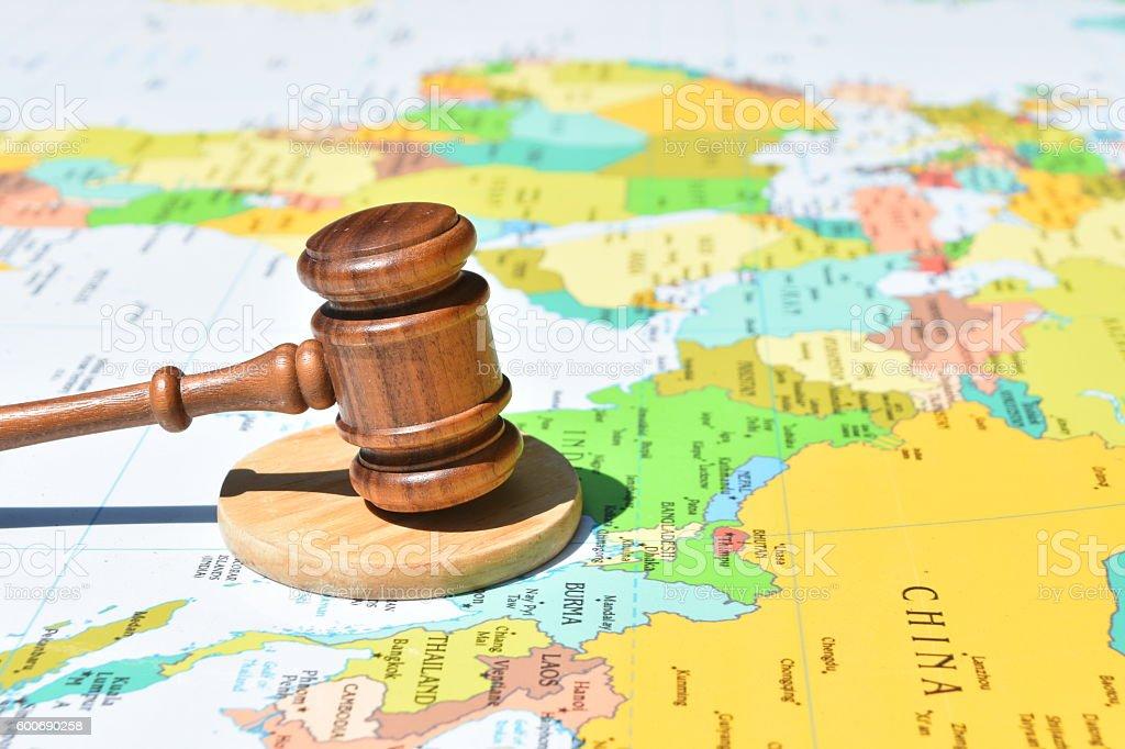 International Law Concept – Foto