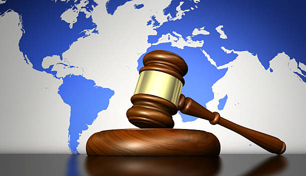International Laws And Justice Concept – Foto