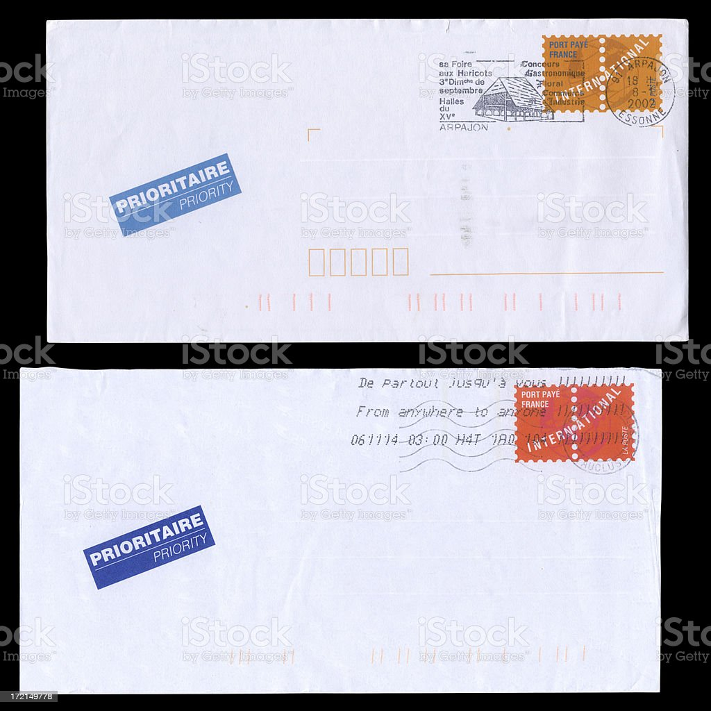 International letters royalty-free stock photo