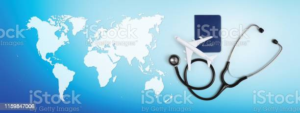 International medical travel insurance concept stethoscope passport picture id1159847006?b=1&k=6&m=1159847006&s=612x612&h=xlkkm6eagt8ow1sib dvyt vg0c3axxsxhmfvjoyai4=