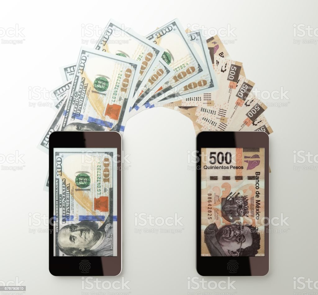 International Mobile Money Transfer Dollar To Mexican Peso Stock
