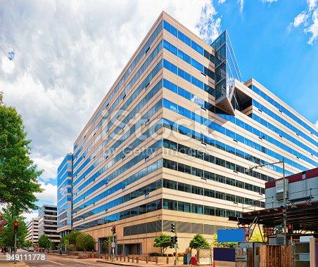 istock International monetary fund building in Washington DC 949111778