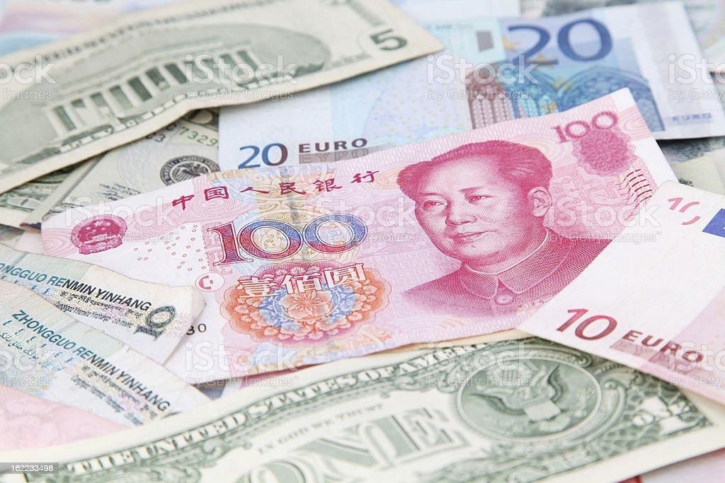 International Money royalty-free stock photo