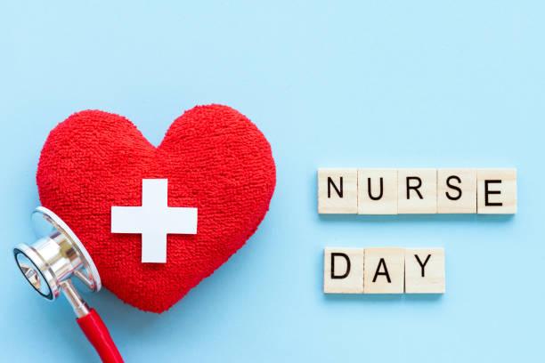 국제 간호사의 날, 12 월. 의료 및 의료 개념입니다. - 낮 뉴스 사진 이미지