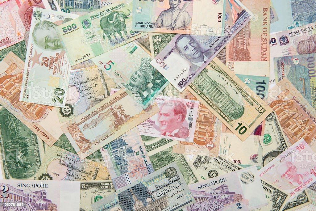 International Paper Currency Background photo libre de droits