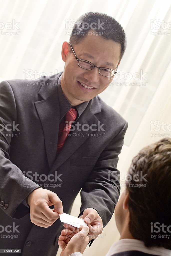 International people in a business meeting. royalty-free stock photo
