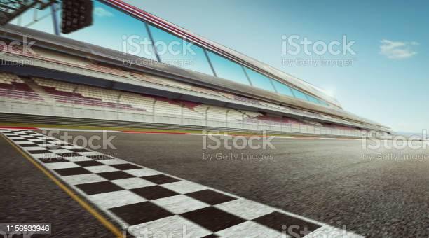 Photo of international race track