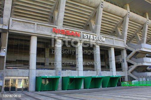 istock International Stadium Yokohama (Nissan Stadium) in Yokohama, Japan 1201670510