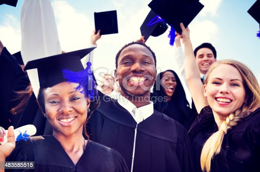 istock International students celebrate graduation 483585515