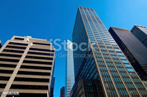 International Style Postmodern Architecture Midtown Manhattan New