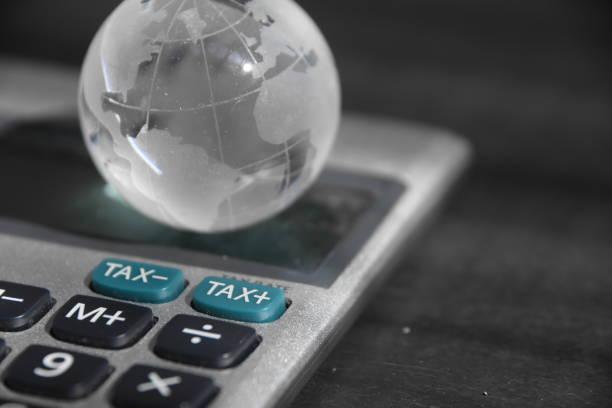 Impostos internacionais - foto de acervo