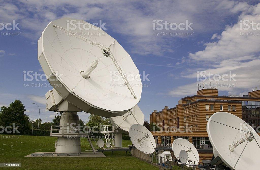 International telecommunication stock photo